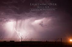 Lightning Over Altus AFB 02    Lightning over Altus Air Force Base taken on May 13th 2010.