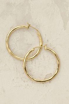 Slide View: 1: Romia Hoop Earrings
