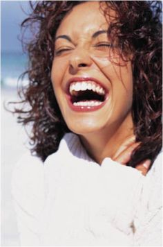 """I've always thought that a big laugh is a really loud noise from the soul saying """"Ain't That The Truth""""."""