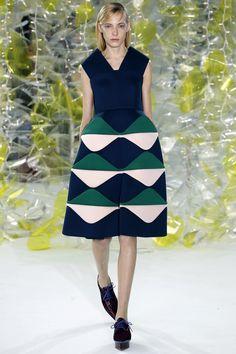 Delpozo Fall 2016 Ready-to-Wear Fashion Show - Zlata Semenko