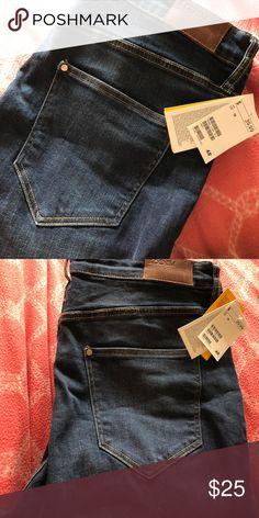 HM dark blue boot cut jeans brand new. PLUS SIZE - 18 - HM DARK BLUE BOOT CUT JEANS 👖 H&M Jeans Boot Cut