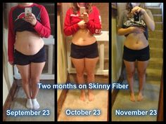 Skinny Fiber Results: Check out Katlyn's results after 2 months of using Skinny Fiber