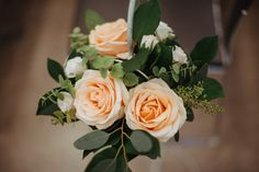 Flowers by Eileen Ting Aisle arrangememt - small buckets of blooms hung from shepherds crooks Photo courtesy of Wheels and Co Photography Church Wedding Flowers, London City, Autumnal, Beautiful Flowers, Wheels, Bloom, Coral, Rose