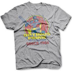 Transformers Mens T Shirt - Optimus Prime Since 1984 from 8Ball.co.uk