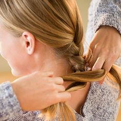 Beachy waves with braids - Easy Beauty Tips Every Woman Should Know - Health.com
