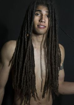 Make dreads long Dreadlock Hairstyles For Men, Dreadlock Styles, Dreads Styles, Boy Hairstyles, Pretty Hairstyles, Natural Hair Tips, Natural Hair Styles, Long Hair Styles, Hair Like Wool