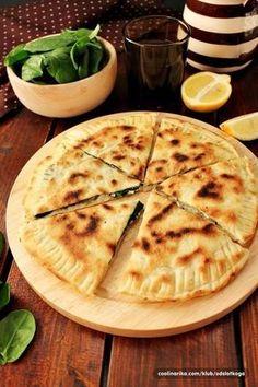 Turske palačinke – Gözleme sa špinatom i feta sirom — Coolinarika