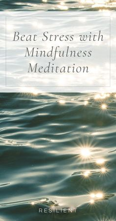 """The saying """"mind over matter"""" may have been proven right again. Researchers at Georgetown University Medical Center recently spearheaded a study utilizing 89 patients to discover whether stress can be reduced by mental power alone. Here's how to beat stre Zen Meditation, Meditation For Health, Meditation Scripts, Meditation For Anxiety, Meditation Exercises, Meditation Benefits, Meditation For Beginners, Chakra Meditation, Meditation Practices"""