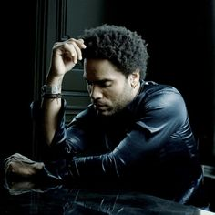 Lenny Kravitz photographed by Nicolas Guerin.