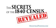 Have you explored the 1840 U.S. federal census in your genealogy research? If not, you should. Here is a list of amazing family history information it contains.