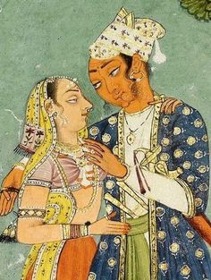 Ragini Bairadi ,detail,  ca. 1620, Bilaspur, India Indian Illustration, India Painting, Indian Artist, Renaissance Art, Asian Art, Medieval, Architecture, Drawings, Artwork