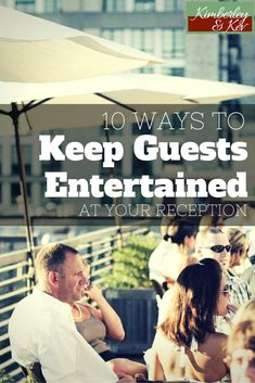 Luckily there are ways you can entertain your wedding guests and make your wedding the hit of the year — and most of these are friendly to even the strictest wedding budgets. #WeddingIdeasOnABudget