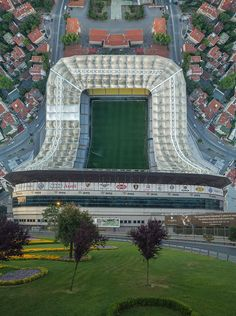 Inception style vertical panoramas done with a quadcopter taken by Aydin Büyüktas