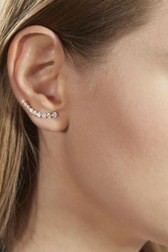 Anita Ko x Tibi floating diamond earrings - love!!