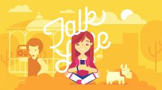 My new case for Talk Life App. A safe place for young people to talk about life's ups and downs that are hard to talk to family and friends about. Art Directon…