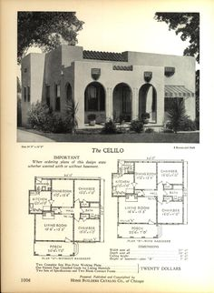 The CELILO - Home Builders Catalog: plans of all types of small homes by Home Builders Catalog Co. Published 1928