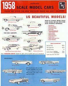 Model Car Ads & Fliers