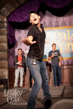 AVPSY rehearsal. Oh my goodness...how can you not find him adorable?? :)