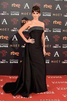Penélope Cruz. Alfombra roja de los Goya 2016. #RedCarpet