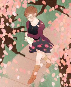 ah springtime fashion… jaehee wears it well Mystic Messenger Jaehee, Jumin Han, Saeran, Cool Sketches, Cat Sitting, Female Images, Fire Emblem, Cat Lovers, Character Design