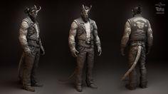 Enemy character for Shadow Warrior 2 game. Concept art by Pawel Swiezak, art direction by Pawel Libiszewski.