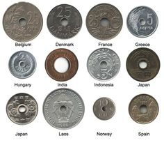 #old coin #holes #currency #VintageGoth