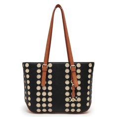 Lazer Dot Boston Handbag
