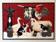farm animals needlepoint (Tony Minieri Stitch Guides - Bing Images)