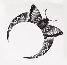 #mandalamoon #mandala #moon #moontattoo #mandalatattoo #blackink #blackwork #blacktattoo #blackworkers #bw #dotwork #stippling #darkartists #tattooflash #tattoodesign #moth #mothtattoo #flash