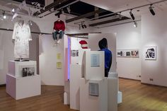 """Lou Stoppard's curated exhibition at the Fashion Space Gallery in London explores male youth in fashion in the """"Mad About the Boy"""" exhibition."""