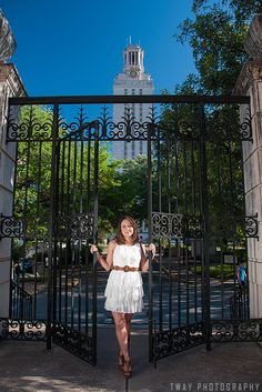 Location: UT Austin Secret Gate by Tway Photography