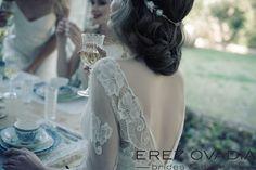#style : Juliette #Backdetails Erez Ovadia Brides & Evening www.erezovadia.com