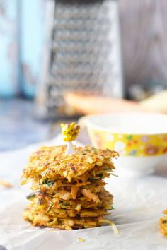 These carrot and parsnip fritters are great for baby led weaning. Mainly carrot and parsnip, they have very little batter. The whole family will love them