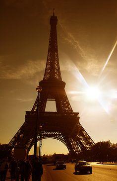 The Eiffel sunrise...