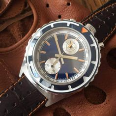 OR, you could just buy one of our 1970s Citizen Bullheads...MONOCHROME: Kickstarter Project - The Super Cool Bullhead Chronograph from Stuckx Watches
