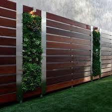 תוצאת תמונה עבור contemporary garden fence