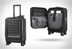 VICTORINOX SPECTRA DUAL-ACCESS CARRY-ON - http://www.gadgets-magazine.com/victorinox-spectra-dual-access-carry/