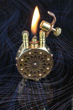 Solid Bronze Gas Pump Petrol Cufflinks