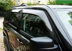 2011-2015 For Jeep Patriot Sun Rain Guard Shade Window Visor Vent Shield Covers 4pcs