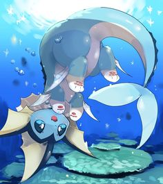 Extremely Cute Vaporeon