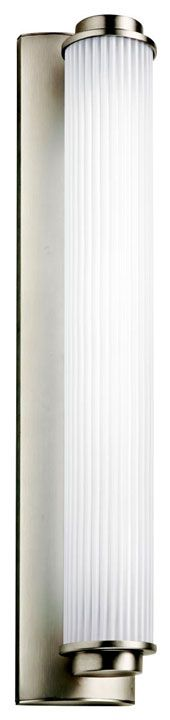 Kichler 11109SN Allegre Modern 26 Inch Tall Satin Nickel Medium Fluorescent Wall Lighting Fixture - KIC-11109SN