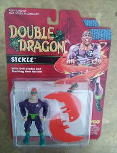 Double Dragon - Sickle action Figure by Tyco