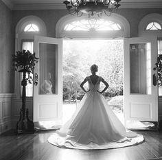 Virgil Bunao Photography. Bride. Wedding Dress. Charleston. Photographer. Film. Black and White. Documentary. Square. Rolleiflex.