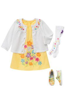 My hopeful First Day of Spring outfit for Gracie... just need to find something to coordinate for me and TomTom