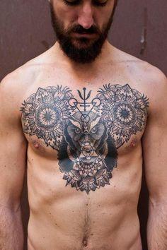 VIKING POSTS - vikingposts: First tattooed guy on the blog, I...