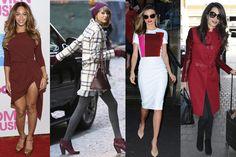 Frente al clásico y a veces aburrido color negro, las celebrities apuestan por un color que no quiere ser ni rojo ni marrón, entre medias de ambos se encuentra el color marsala, el pantone que se impone como el nuevo color estrella de la temporada.