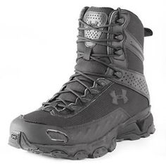 Under Armour Tactical Women's Heatgear Valsetz Black Boots 1236452 Sizes Tactical Wear, Tactical Clothing, Tactical Jacket, Police Gear, Military Gear, Military Shoes, Under Armour, Duty Boots, Black Boots