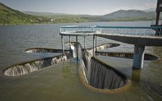 Star-Shaped Spillway in Armenia