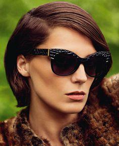 Дарья Вербова в рекламной кампании Roberto Cavalli