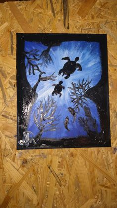 #art #easyart #painting #nature 3 Arts, Simple Art, Art Oil, Love Art, Ocean, Make It Yourself, Nature, Painting, Naturaleza